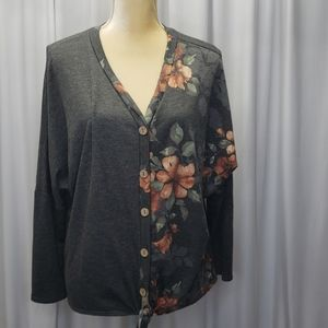 a.gain casual pullover top size small